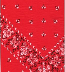 Red Bandana Tissue Paper - Ten Folded Sheets