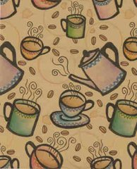 Expresso Coffee Heavy Gift Wrapping Paper - 30 Ft Roll