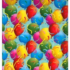 Party Balloons Gift Wrapping - 30 Ft Roll