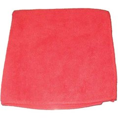 """Perfect Products Microfiber Cloths 16""""x16 """", Red 200/Pack - Pkg Qty 200"""