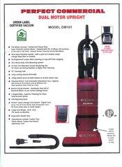 Perfect DM101 Dual Motor Upright Vacuum HEPA Commercial