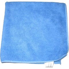 "Perfect Products Microfiber Cloths 16""x16 "", Blue 200/Pack - Pkg Qty 200"