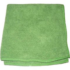 """Perfect Products Microfiber Cloths 16""""x16"""", Green 200/Pack - Pkg Qty 200"""