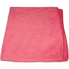 """Perfect Products Microfiber Cloths 16""""x16 """", Pink 200/Pack - Pkg Qty 200"""