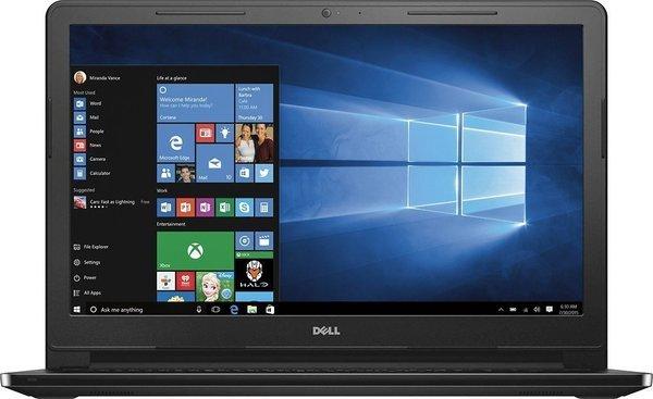 "2016 Dell Inspiron i3558-5500BLK 15.6"" Laptop (Core i3-5015U 2.1Ghz, 4GB Memory, 1TB Hard Drive, Windows 10, Black)"