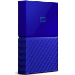 WD My Passport 1TB 5,400 RPM USB 3.0 Hard Drive - Blue