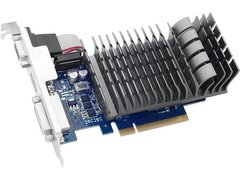 ASUS GeForce GT 710 DirectX 12 710-2-SL-CSM 1GB 64-Bit DDR3 PCI Express 2.0 x 8 HDCP Ready Video Card