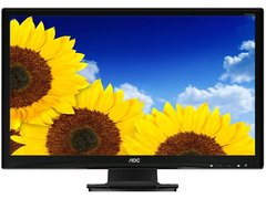 "AOC E2727SHE Glossy Black 27"" 2ms HDMI Widescreen LED Backlight Monitor 300 cd/m2 20,000,000:1"