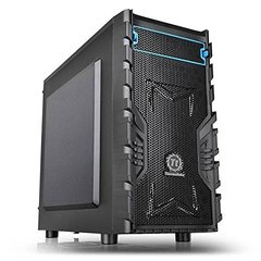 Thermaltake Versa H13 No Power Supply MicroATX Case, Black (CA-1D3-00S1NN-00)