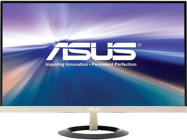 """ASUS VZ249H Frameless 23.8"""" 5ms (GTG) IPS Widescreen LCD/LED Monitors, HDMI 1920X1080 Ultra-Slim Design, W/ eye care feature and flicker free Technology, 178/178 Viewing Angle and build in speakers"""