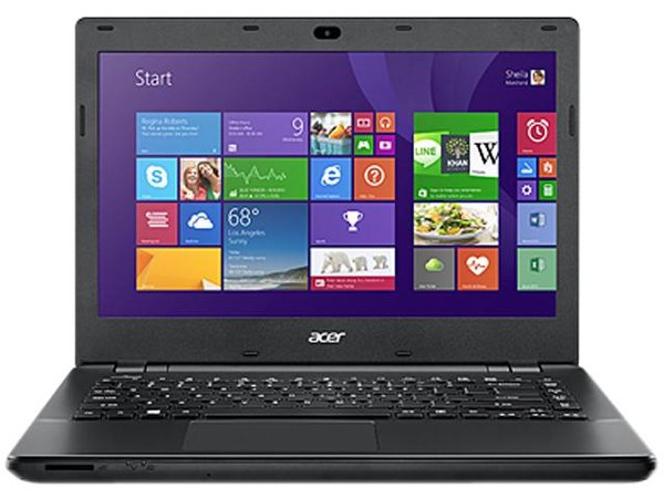 "Acer TravelMate P246-M TMP246-M-P4DP 14"" LED (ComfyView) Notebook - Intel Pentium 3556U Dual-core (2 Core) 1.70 GHz - Black"
