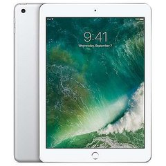 "Apple iPad Wi-Fi Tablet - 9.7"" Retina Display, 32GB Storage, A9 Chip With 64-bit Desktop-Class Architecture, Touch ID Fingerprint Sensor, 8MP Rear + 1.2MP Front Camera, Silver"