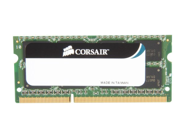 CORSAIR ValueSelect 4GB 204-Pin DDR3 SO-DIMM DDR3 1066 (PC3 8500) Laptop Memory Model CM3X4GSD1066 G