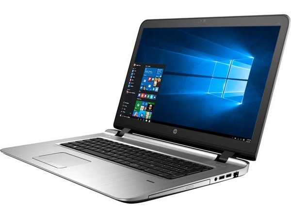"HP Laptop ProBook 470 G3 (Y1X32UT#ABA) Intel Core i5 6th Gen 6200U (2.30 GHz) 8 GB Memory 500 GB HDD Intel HD Graphics 520 17.3"" Windows 7 Professional 64-Bit upgradable to Windows 10 Pro"