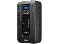 CyberPower Ecologic EC850LCD 850 VA 510 W 12 Outlets UPS