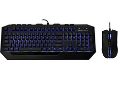 Cooler Master Devastator - LED Gaming Keyboard and Mouse Combo Bundle (Blue Edition)