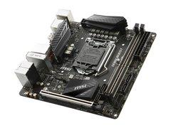 MSI Z370I GAMING PRO CARBON AC LGA 1151 (300 Series) Intel Z370 HDMI SATA 6Gb/s USB 3.1 Mini ITX Intel Motherboard