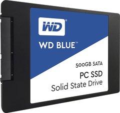 """WD Blue 500GB Internal SSD Solid State Drive SATA 6Gb/s 2.5"""" WDS500G1B0A"""