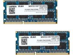 Mushkin Enhanced iRam 16GB (2 x 8GB) DDR3 1066 (PC3 8500) Memory for Apple Model MAR3S1067T8G28X2