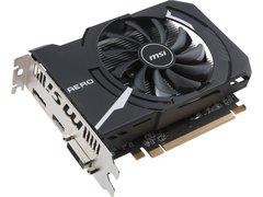 MSI Radeon RX 550 DirectX 12 RX 550 AERO ITX 2G OC 2GB 128-Bit GDDR5 PCI Express x16 (uses x8) HDCP Ready Video Card