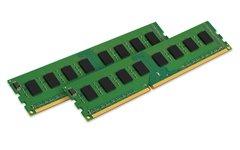 Kingston KVR21N15S8K2/8 ValueRAM - DDR4 - 8 GB : 2 x 4 GB - DIMM 288-pin - 2133 MHz / PC4-17000 - CL15 - 1.2 V - unbuffered - non-ECC