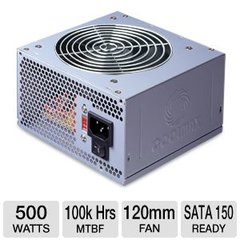 COOLMAX V-500 500W ATX12V Power Supply