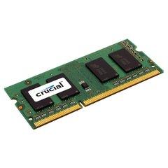 Crucial 4GB Single 1600MHz (PC3-12800) CL11 204-Pin SODIMM DDR3L-SDRAM Memory