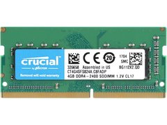 Crucial 4GB 260-Pin DDR4 SO-DIMM DDR4 2400 (PC4 19200) Laptop Memory Model CT4G4SFS824A