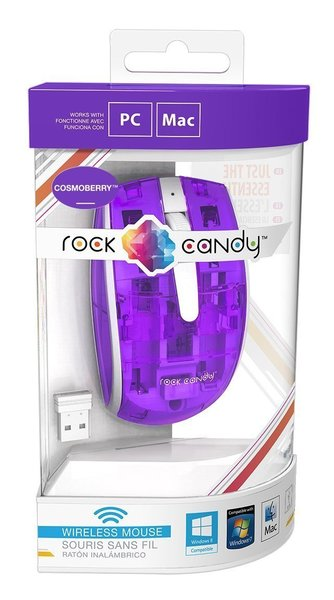 PDP Rock Candy Wireless Mouse - Cosmoberry (904-002-NA-PR)
