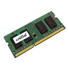 Crucial - Memory - 8 GB - SO DIMM 204-pin - DDR3 - 1600 MHz / PC3-12800 - CL11 - 1.35 V - unbuffered - non-ECC