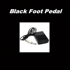 Black Foot Pedal
