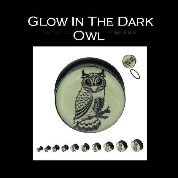Glow In The Dark Owl Plug