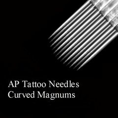 AP Tattoo Curved Magnum Needles