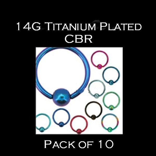 14 Gauge Titanium Plated CBR