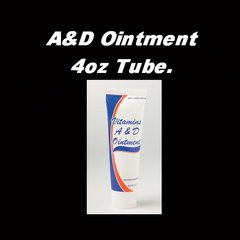 A&D Ointment 4oz Tube.