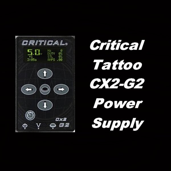 Critical Tattoo CX2-G2 Power Supply