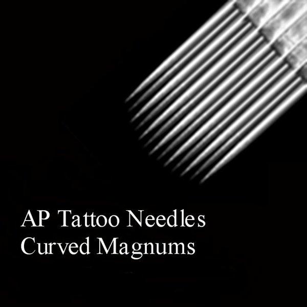 AP Tattoo Curved Magnum Needles