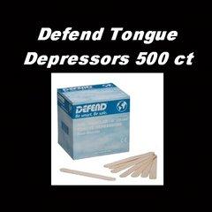 Defend Tongue Depressors 500 ct