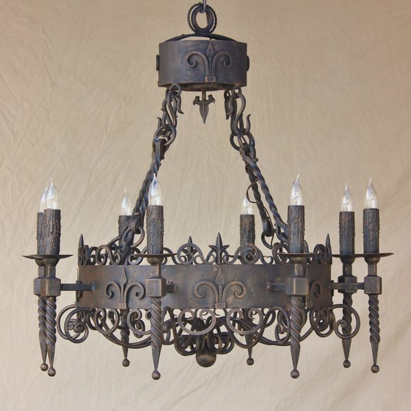 1205 8 spanish revival chandelier spanish revival lighting 1205 8 spanish revival chandelier aloadofball Choice Image