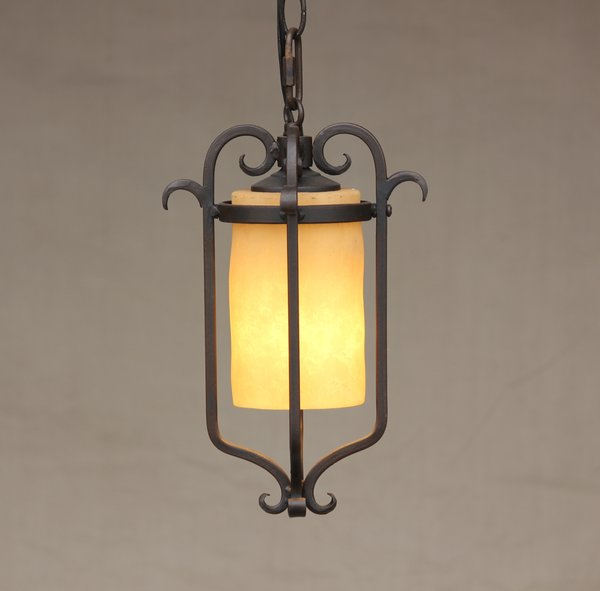 Elk Lighting Andalusia: 6120-1 Spanish Andalusia Mini Pendant Light