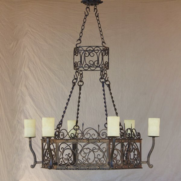 1171 6 spanish colonial chandelier spanish revival lighting 1171 6 spanish colonial chandelier aloadofball Choice Image