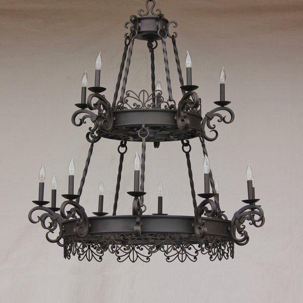 1432 15 spanish style chandelier spanish revival lighting 1432 15 spanish style chandelier aloadofball Images