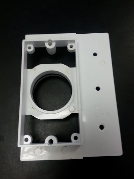 Plastic Inlet Mounting Bracket Backplate Cmw Central Vacuums
