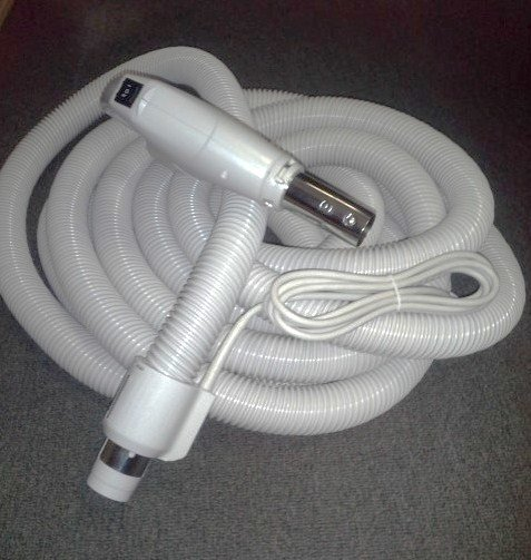 Replacement Vacuum Hoses : Foot replacement electric central vacuum hose for beam