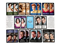 Hollywood Legends Concentration Card Game (by Schizzlesnaps)