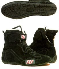 DJ SAFETY SFI 3.3.5 DRIVING SHOES BLACK SIZES 1-13