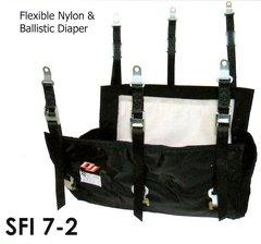 DJ SAFETY BALLISTIC SFI 7-2 HEMI 354/392 HEADER MOUNT