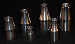 """TITANIUM TUBE ADAPTER 1 1/4"""" X.065 5/8""""-18 RH"""