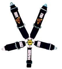 "DJ SAFETY 5 POINT HARNESS CAMLOCK/ 3"" / BOLT-IN"