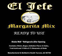 El Jefe Margarita Mix - Case